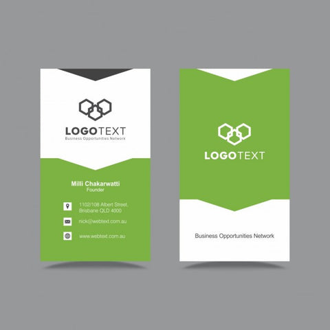 Green Business Card 1