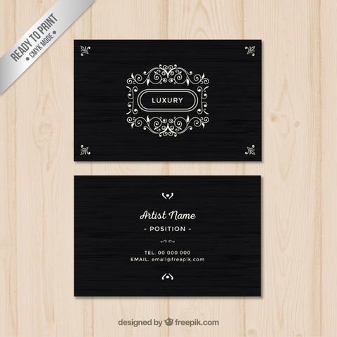 Luxury business card 1