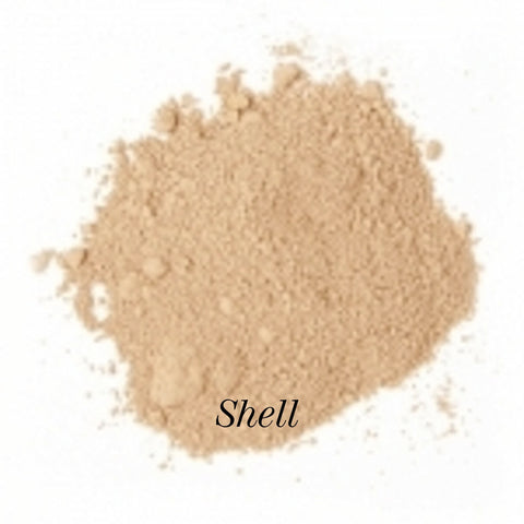Shell is for light to medium light skin with very cool undertones. - Facing Perfection Mineral Makeup- Beautifully Perfect...Naturally!