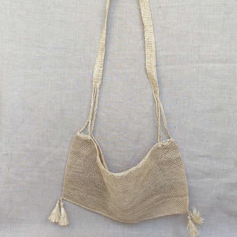 HANDBAG CORD NATURAL/SAC FILET NATUREL