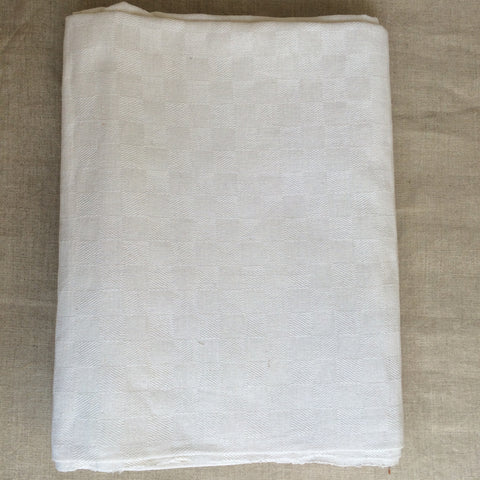 TABLE CLOTH WHITE/NAPPE BLANCHE