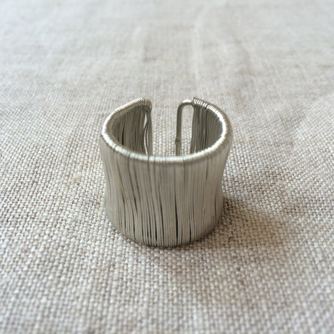 RING ALU SILVER/BAGUE ALU