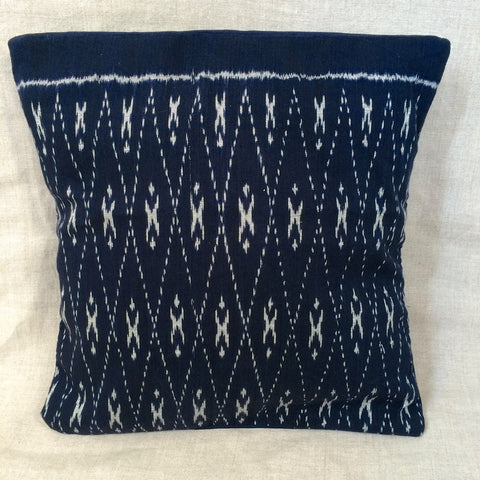 2 PILLOWS COVER BLUE / 2 HOUSSES COUSSIN BLEU