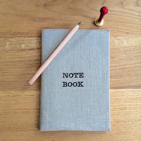 NOTE BOOK / CARNET DE NOTES