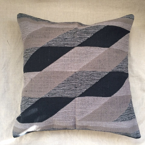 PILLOWS (X2) LINEN GREY/ HOUSSE COUSSIN GRIS