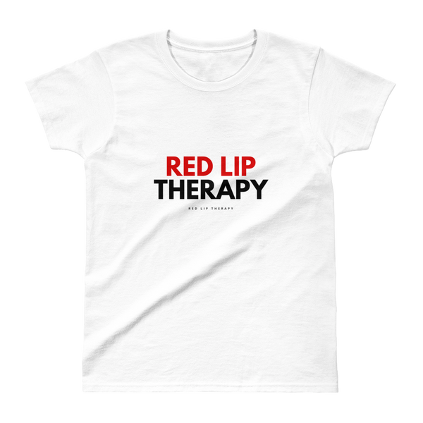 Red Lip Therapy Tee