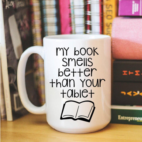 Book Lover Mug, Coffee Mug - Do Take It Personally