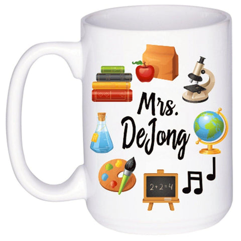 Back to School Teacher Mug, Coffee Mug - Do Take It Personally