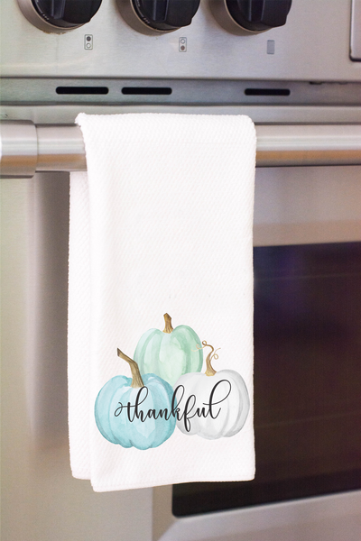 Thankful Grateful Blessed Towel Set, Towels - Do Take It Personally
