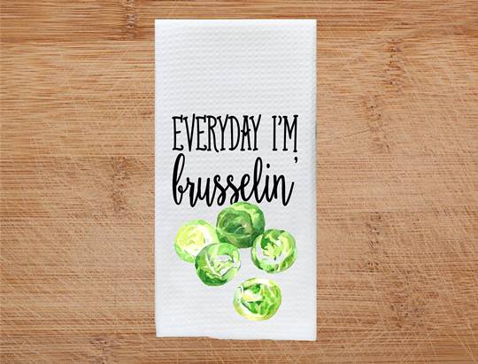 Vegetable Kitchen Towels, Towels - Do Take It Personally