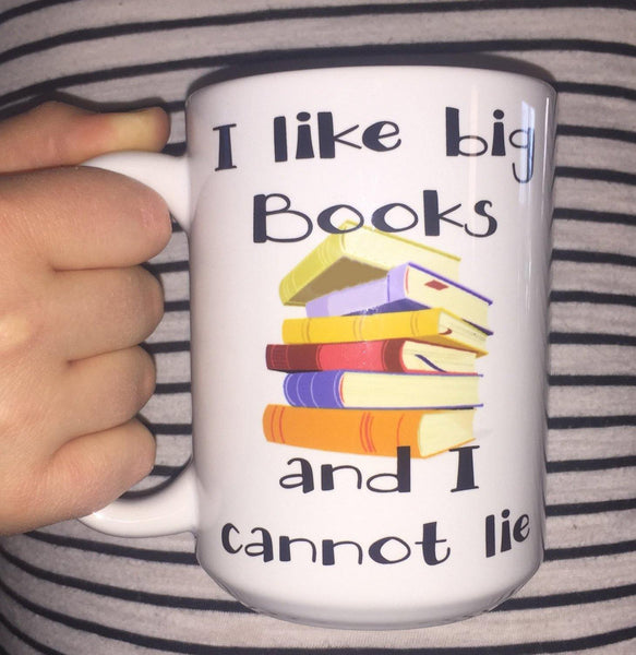I Like Big Books Coffee Mug, Coffee Mug - Do Take It Personally