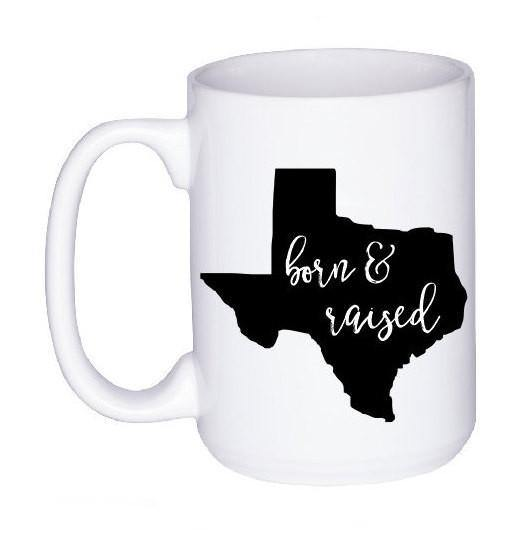 Born and Raised State Pride Mug,  - Do Take It Personally