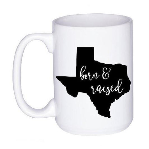 Born and Raised State Pride Mug, Coffee Mug - Do Take It Personally