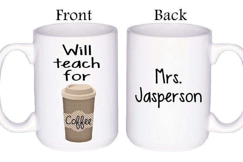 Teacher Mug Gift, Coffee Mug - Do Take It Personally