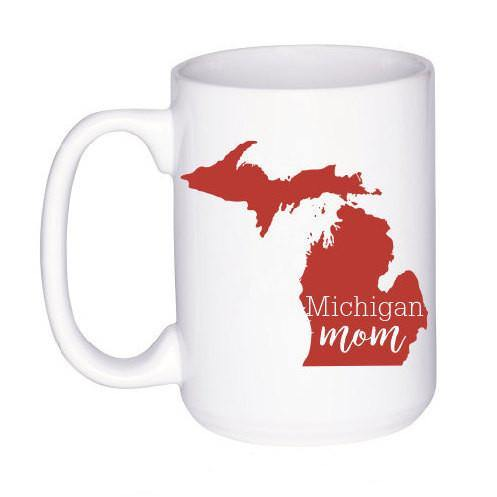 Michigan State Mug - Cute Gift for Mom - Michigan Mug - Cute Coffee Cup - Custom Coffee Mug - Unique Gift for Mother - Gifts Under 15,  - Do Take It Personally