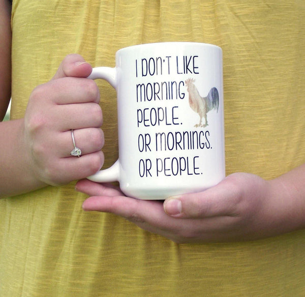 Funny Mug - Cute Gift Idea - Morning Person Coffee Cup - Cute Coffee Mug - Gift For Her - Quote Mug - Antisocial Gift - Gifts Under 15,  - Do Take It Personally