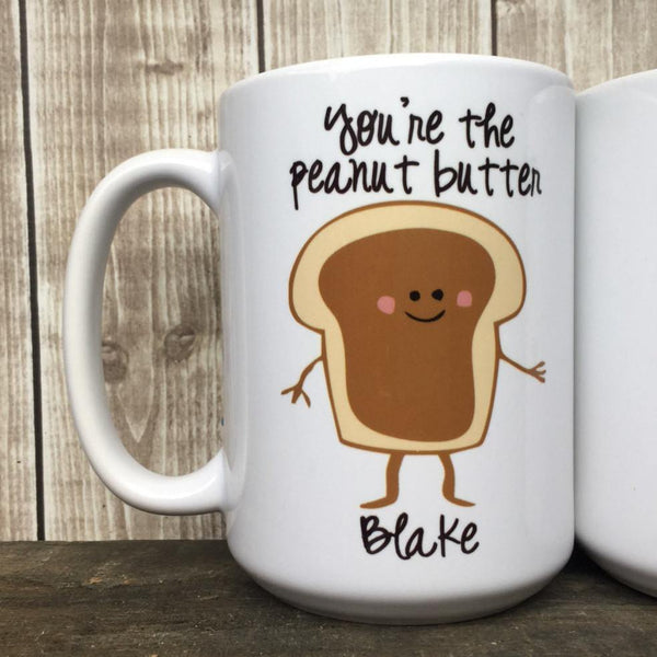 Peanut Butter and Jelly Mug Set for Couple, Coffee Mug - Do Take It Personally