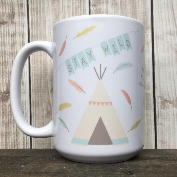 Stay Wild Mug, Coffee Mug - Do Take It Personally