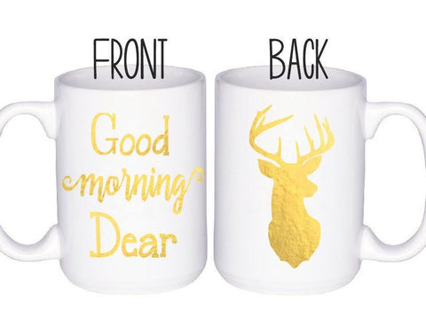 Deer Mug, Coffee Mug - Do Take It Personally