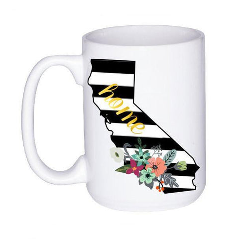 Home State Striped Coffee Mug, Coffee Mug - Do Take It Personally