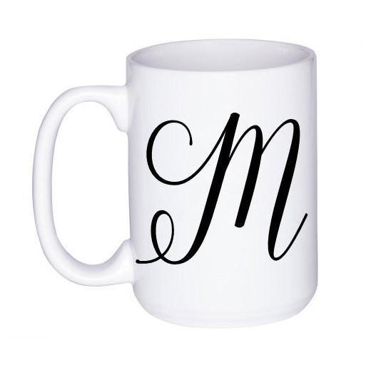 Initial Coffee Mug, Coffee Mug - Do Take It Personally