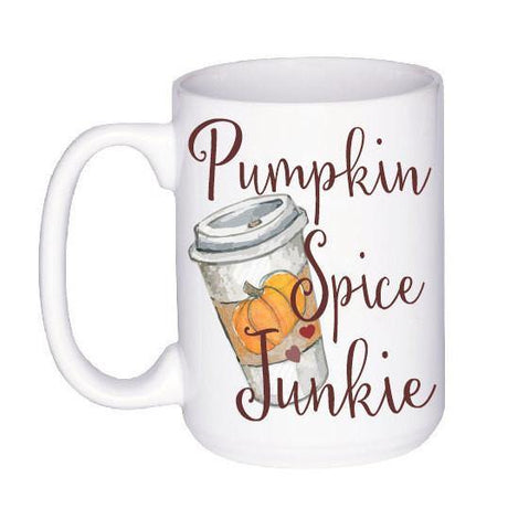 Pumpkin Spice Fall Mug, Coffee Mug - Do Take It Personally