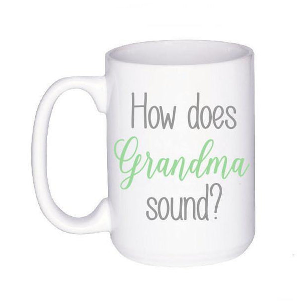 Pregnancy Announcement - New Grandma Mug - Pregnancy Reveal - Baby Announcement - New Grandparents - Gift for Nana - Future Grandma,  - Do Take It Personally