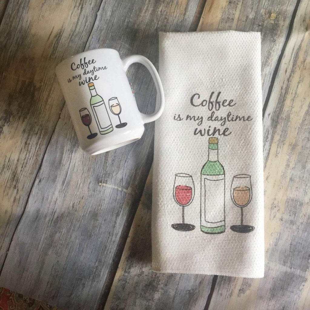 Funny Mug Set - Foodie Gift - Gift for Coffee Lover - Gift for Wine Lover - Funny Kitchen Decor - Large Coffee Mug - Coffee and Wine Gift,  - Do Take It Personally