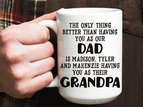 Grandpa Mug, Coffee Mug - Do Take It Personally