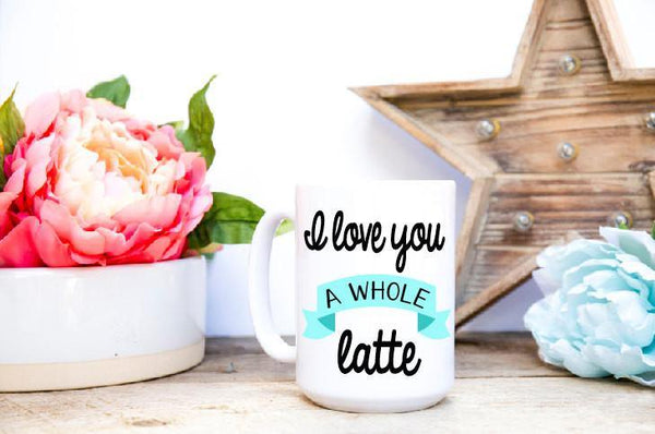 Latte Lover Mug, Coffee Mug - Do Take It Personally