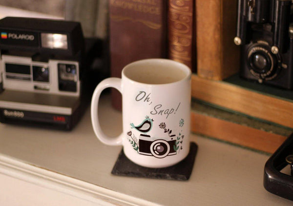 Photographer Gift, Photographer Mug, Photography Gift, Editing Day Mug, Camera Mug, Photography Mug, Wedding Photographer, Oh Snap, Camera, Coffee Mug - Do Take It Personally