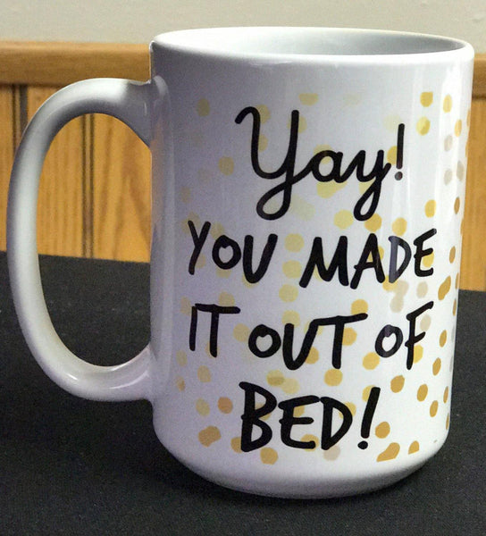 Not a Morning Person Mug - Funny Coffee Cup - Cute Coffee Mug