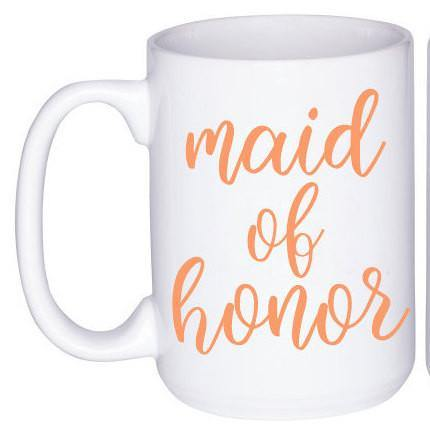 Maid Of Honor and Bridesmaid Mug, Coffee Mug - Do Take It Personally