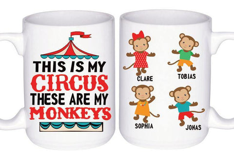 This is My Circus Mug, Coffee Mug - Do Take It Personally