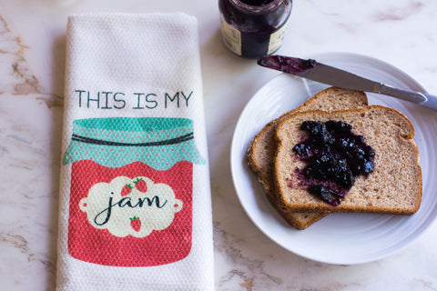 This is My Jam Kitchen Towel, Towels - Do Take It Personally