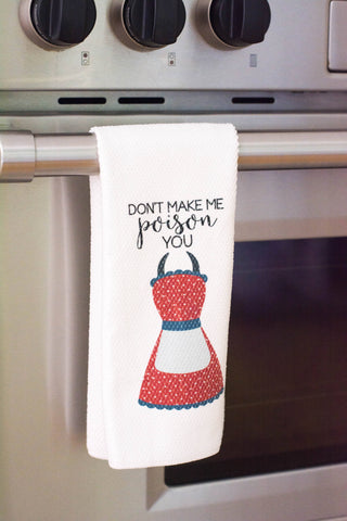 Funny Dish Towels - Foodie Gift - Unique Kitchen Towels - Gift for Wedding Shower - Fun Hostess Gift - Funny Kitchen Decor - Gift for Chef, Towels - Do Take It Personally
