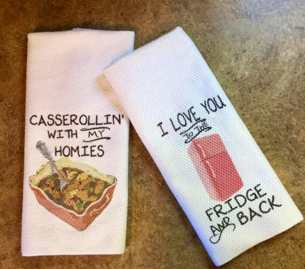 Food Lover Cute Dish Towels, Towels - Do Take It Personally