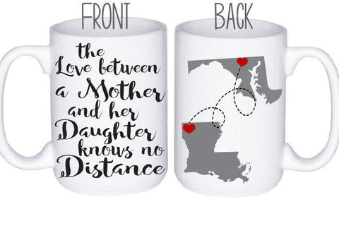 Mom Distance Mug, Coffee Mug - Do Take It Personally