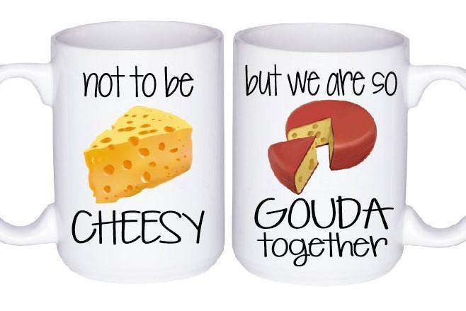 Cheesy Mug Set, Coffee Mug - Do Take It Personally