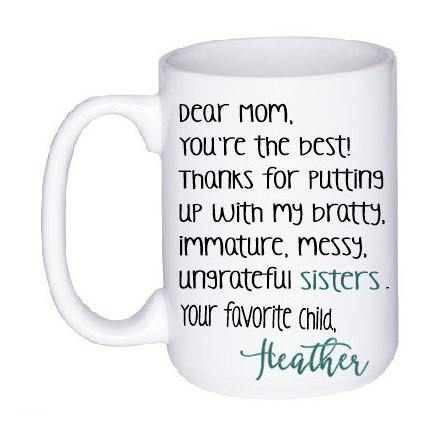 Funny Personalized Mug for Mom,  - Do Take It Personally