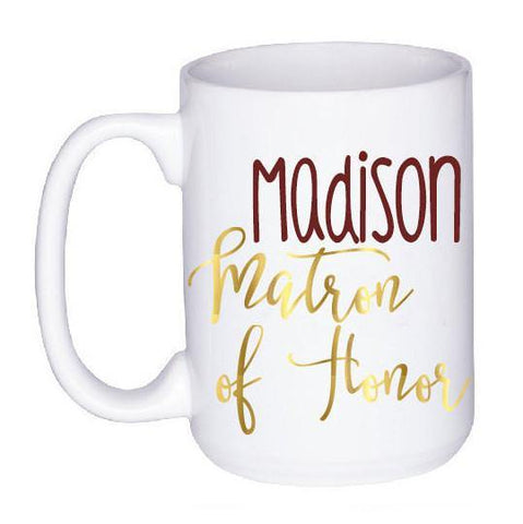 Bridal Party Mug, Coffee Mug - Do Take It Personally