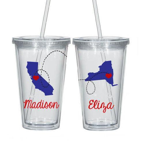 Personalized Distance Cup, Tumbler Cups - Do Take It Personally