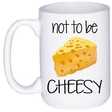 His and Hers Cheesy Mug Set, Coffee Mug - Do Take It Personally