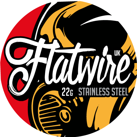 Flatwire UK 22G Stainless Steel