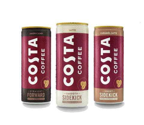 Costa Coffee Cans