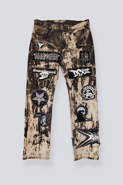 DSXIII BLEACH ROCK JEANS - CREEPS