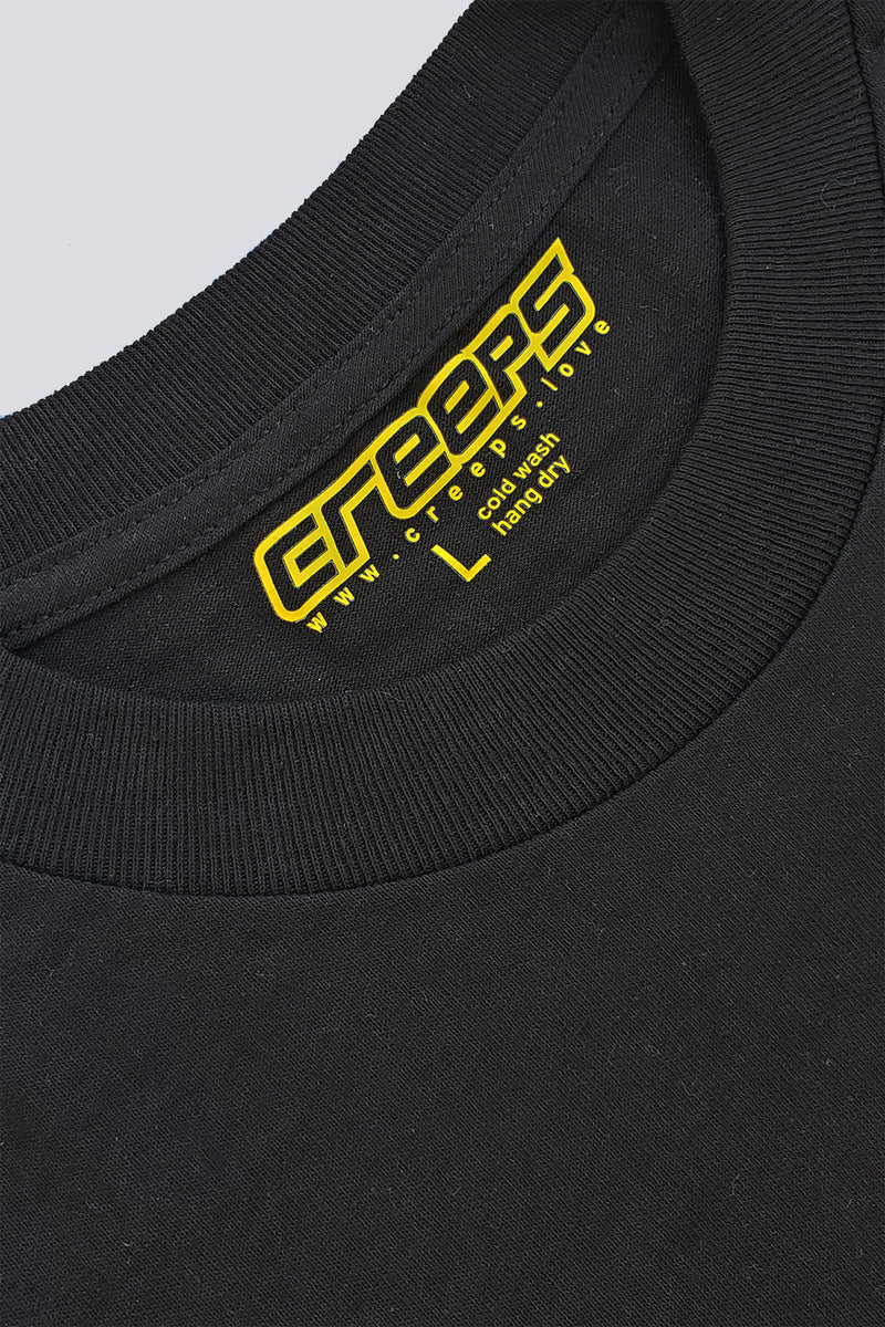 CREEPS | LOGO TEE BLACK - CREEPS