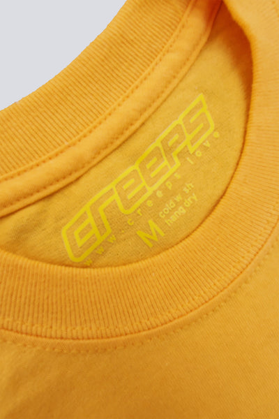 CREEPS | LOGO TEE - YELLOW - CREEPS