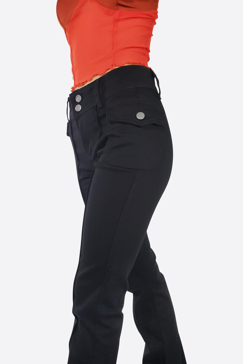 MARY JANE PANELLED TROUSERS