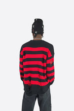 STRIPED VIOLENCE SWEATER